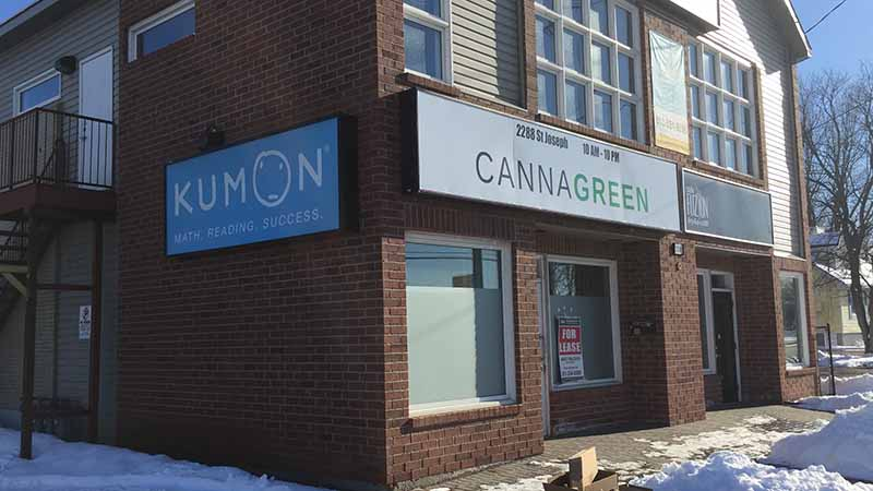 Pot Stores Push Their Drugs From Same Building As Kumon Tutoring Clinic